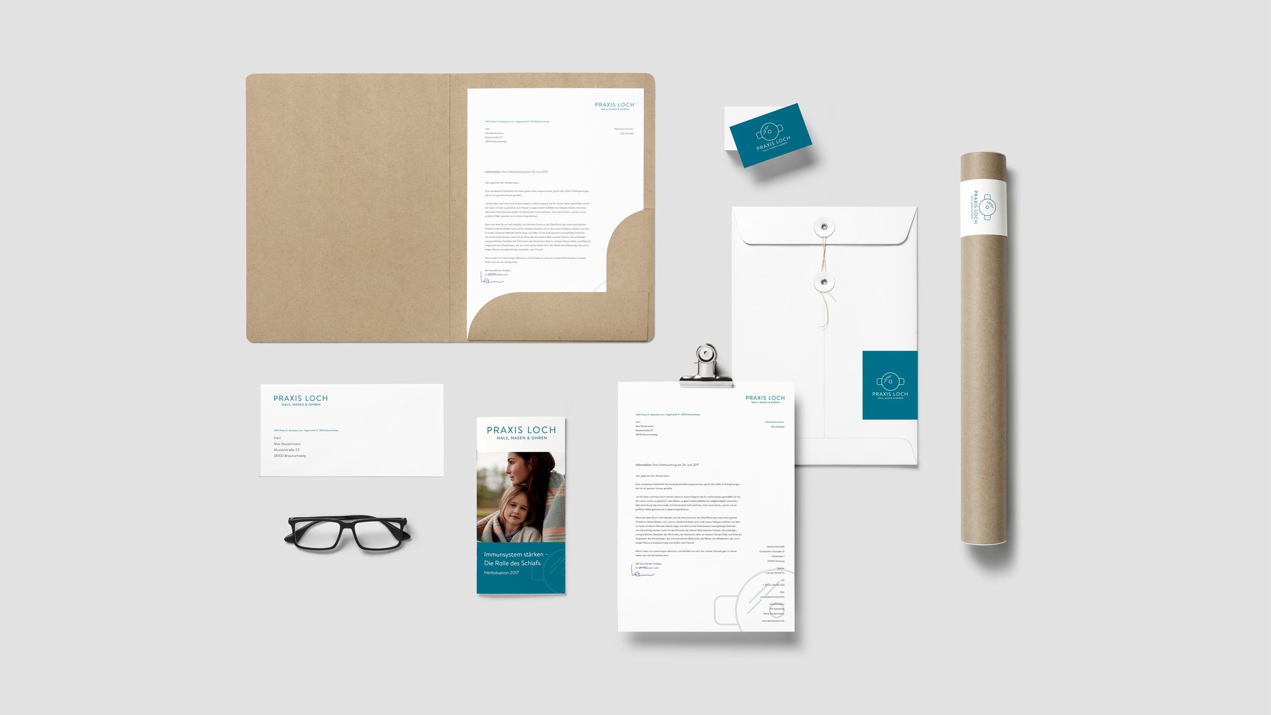 hno-praxis-loch-braunschweig-corporate-design-hamburg