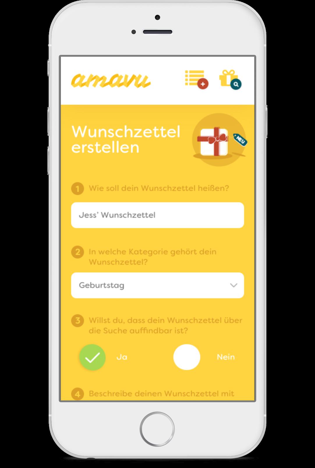 app-design-amavu-startup-godewind-hamburg-user-interface-ux