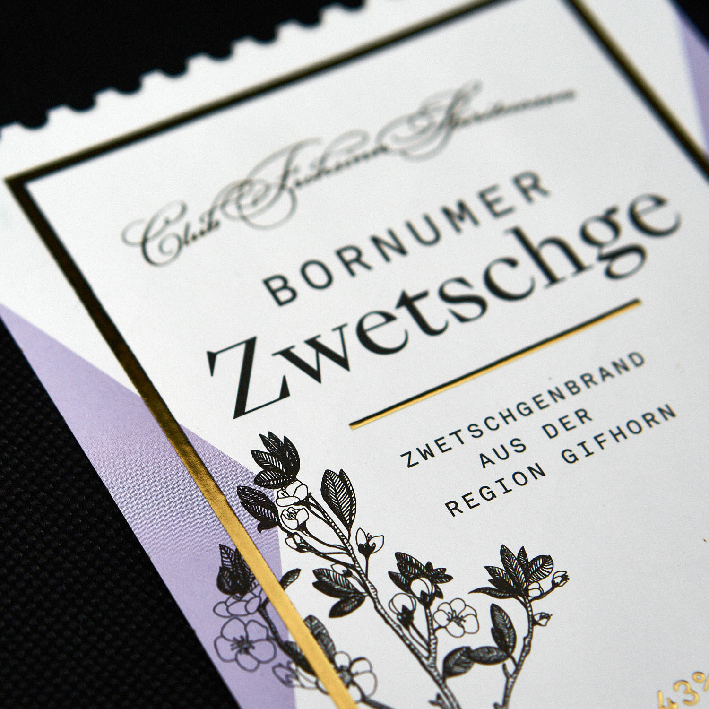 Godewind-Schnaps-Etikett-Bornumer-Zwetschge-Gifhorn-packaging-design